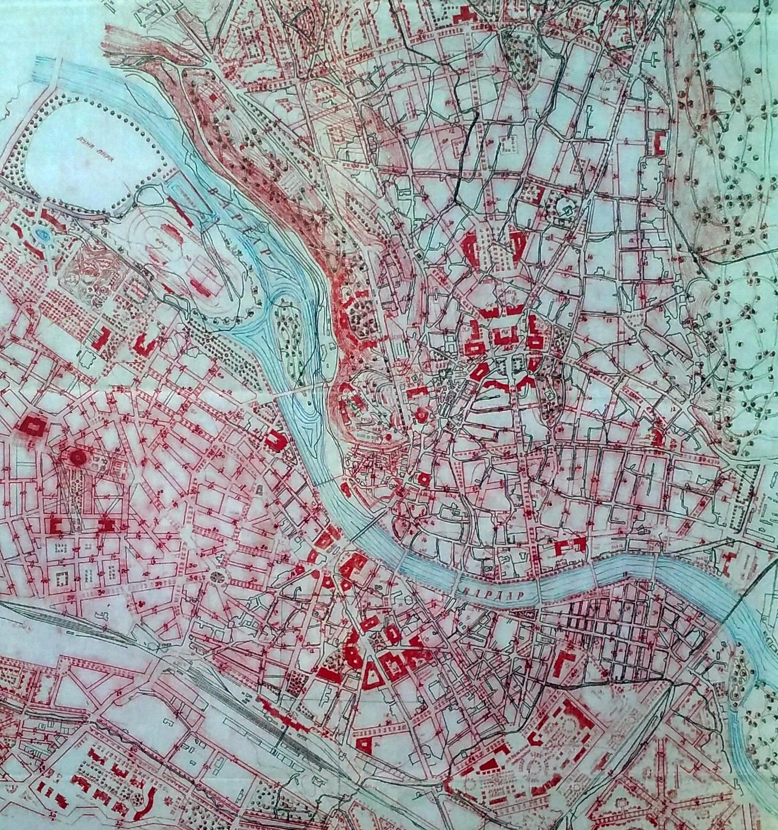 урбанистички план на скопје јосиф михајлович