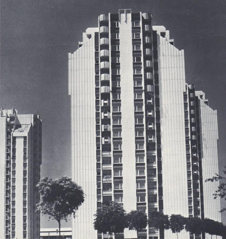 Станбени кули П+16 Карпош Скопје - Трајко Димитров