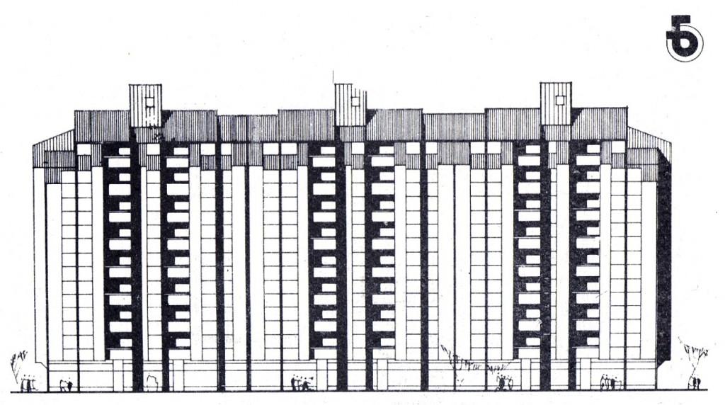 Ст. кули Б14 и ст. блок Б13 Кпиштец Скопје 1