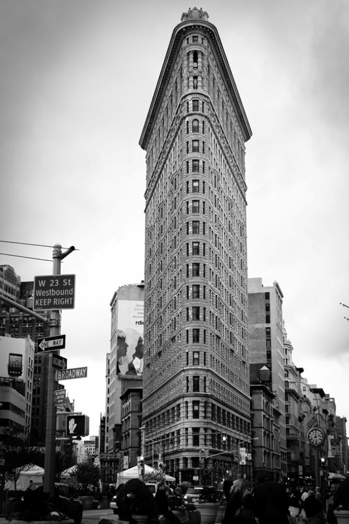 Flatiron-NYC-BW