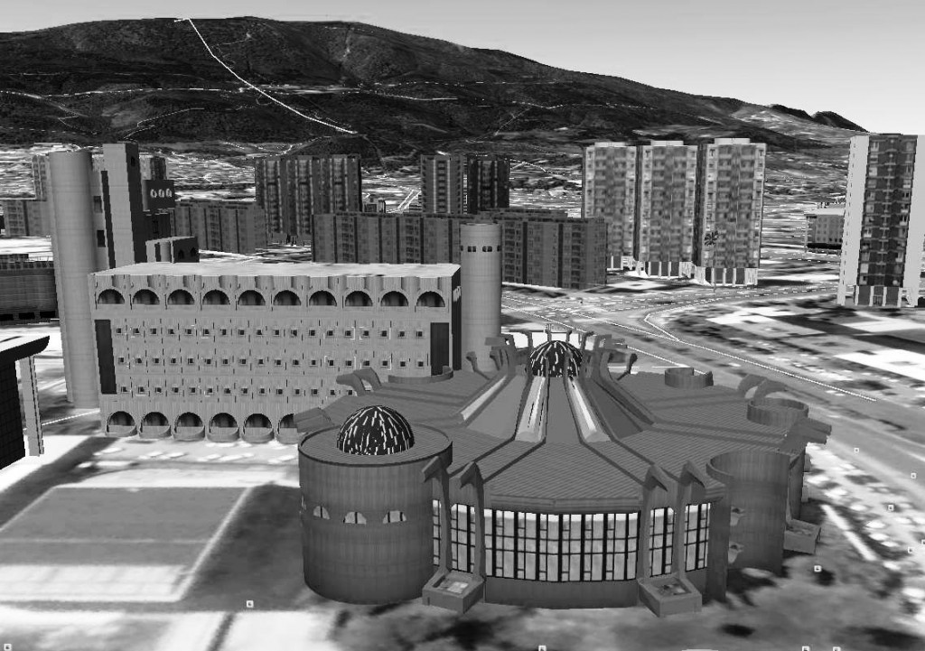 model Google earth ptt sk