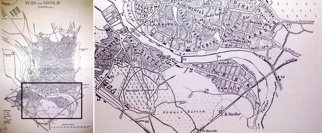 Урбанистички план на Маџир Маало 1890 година_марх