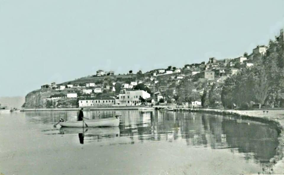 1 Охрид 1910 - ите години со поглед кон Варош маало