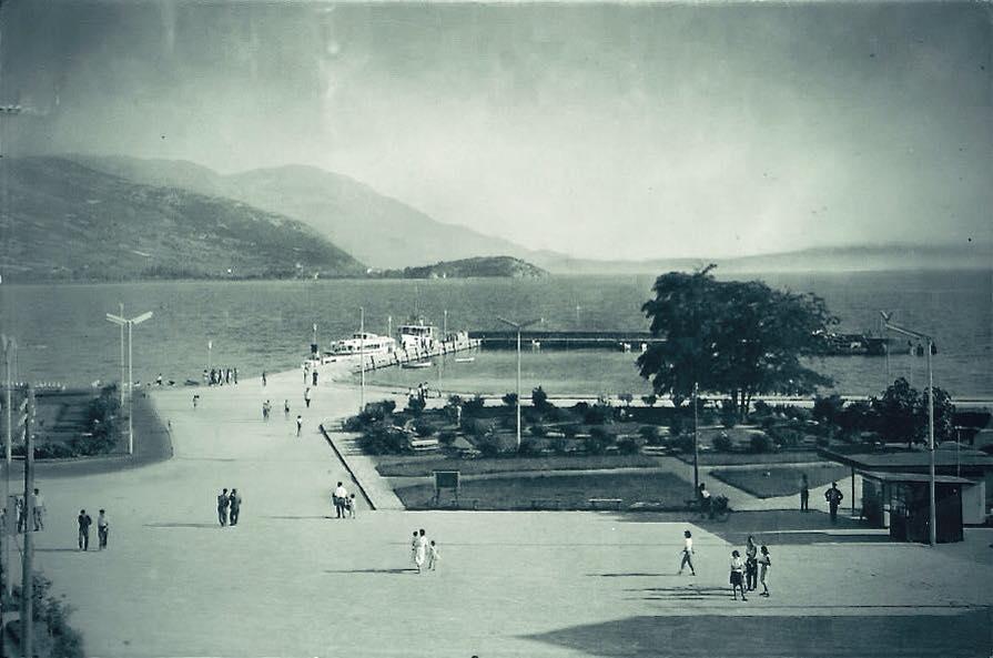 2 Охридскиот плоштад и пристаништето 1950