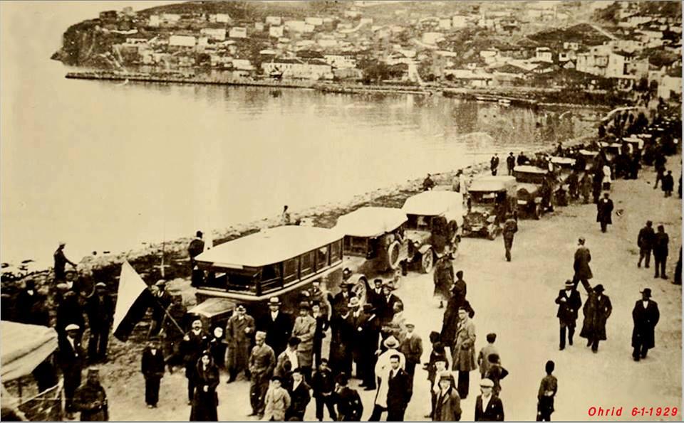 4 На 6 јануари 1929 година Охрид бил посетен од голем број туристи