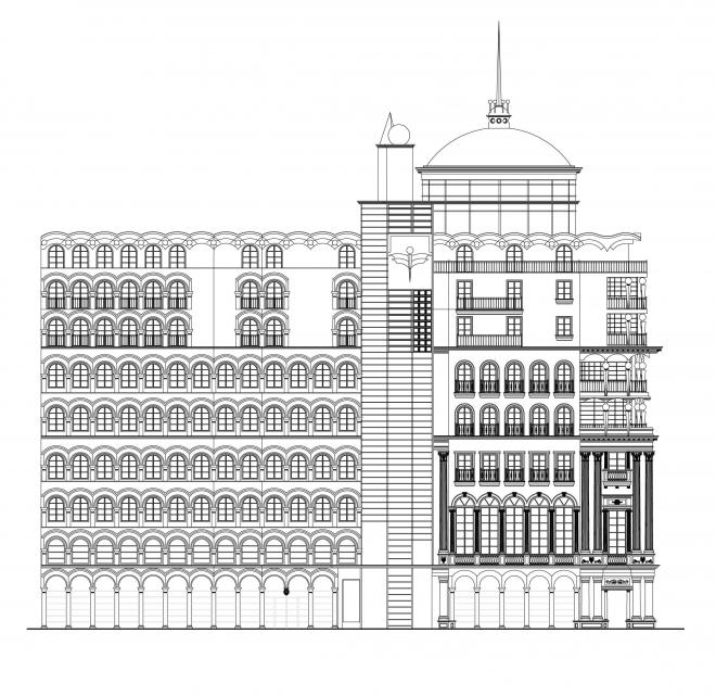 Метропол - надградба и промена на фасада 2