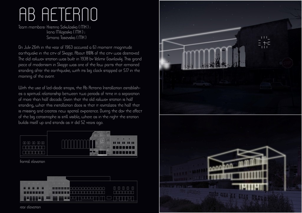 Ab Aeterno CLUE Competition 1
