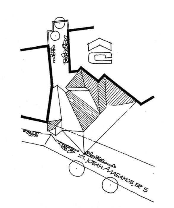 1 Ситуација - куќа на Тренчева Бона
