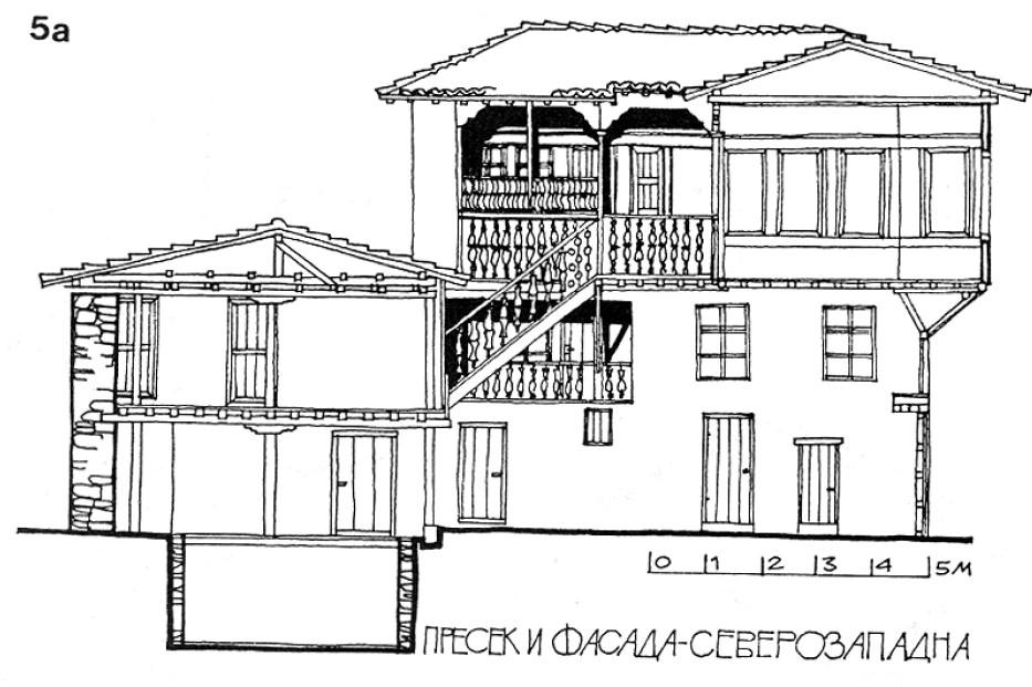5 Фасада - куќа на Тренчева Бона