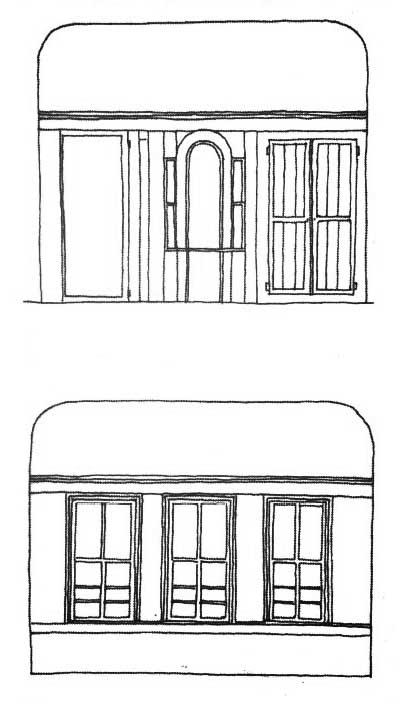 9 Изглед на вградена покуќнина и прозорци - куќа на Тренчева Бона