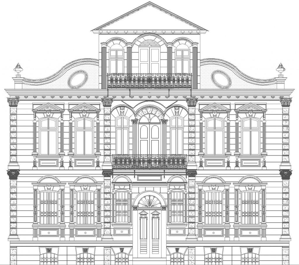 предна фасада