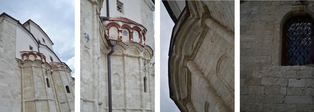 10 - фрагменти од источната фасада