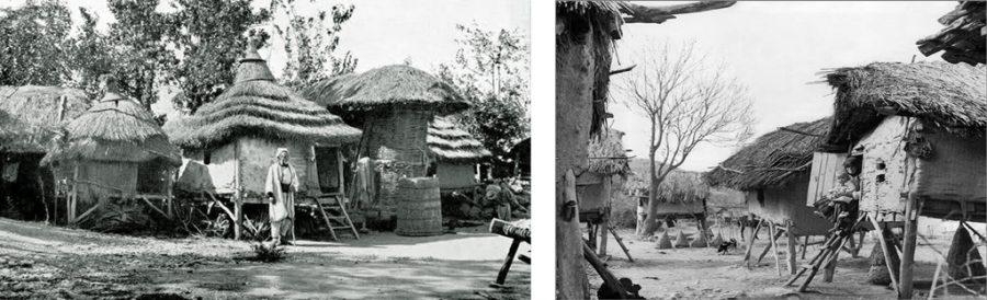 Колиби на столпци - Македонија