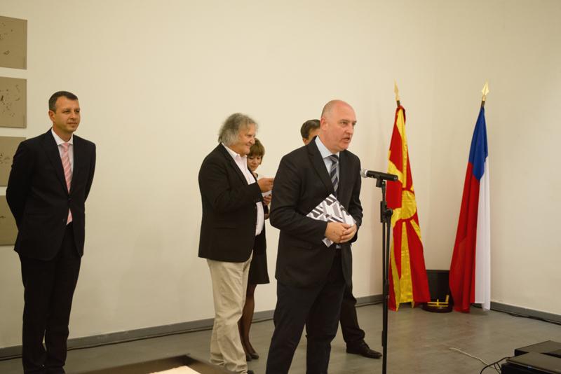 Nespatřená Skopje, zahájení výstavy a přednáška v Galerii UM UMPRUM Praha 10. 09. 2015