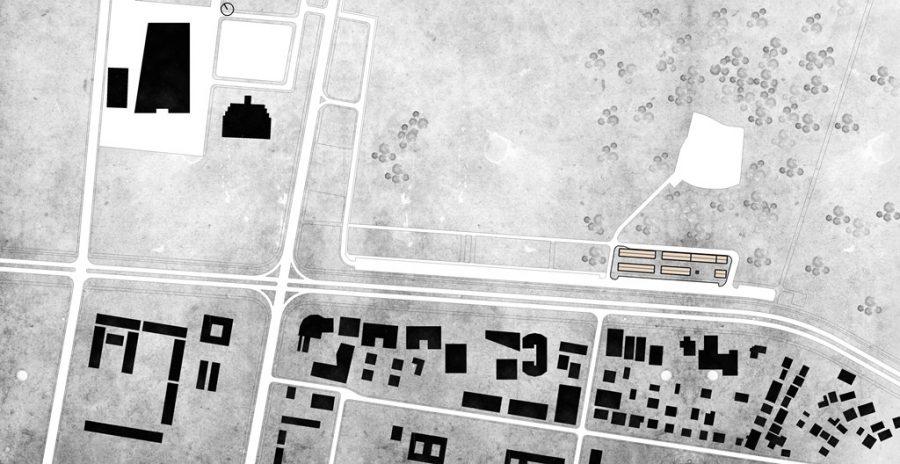 """Сл, 2. Ситуација на локација, булевар """"Илинден"""""""